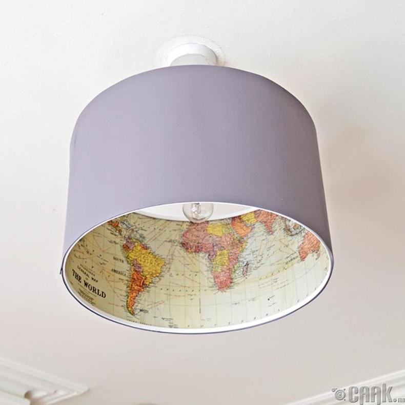 Гэрлийн бүрхүүлээ өөрчлөх бүтээлч санаа