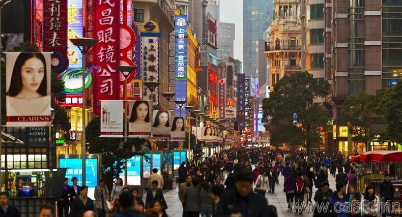 Шанхай, БНХАУ