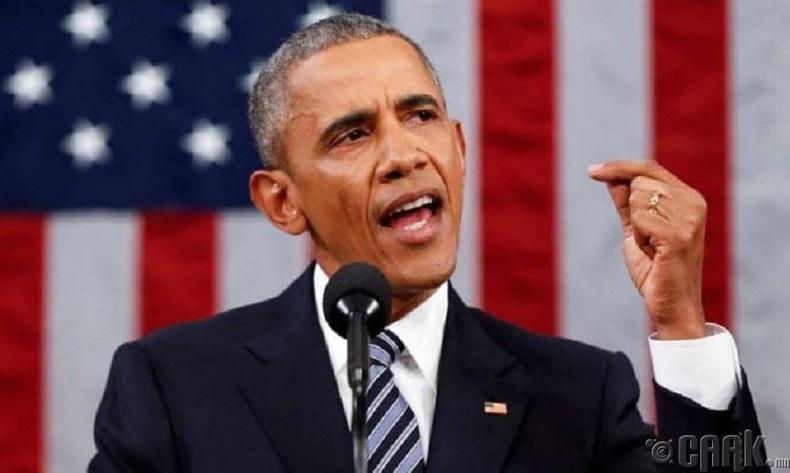 Обама бол хэн нэгний хүүхэлдэй