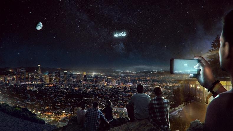 Шөнийн тэнгэрийг сурталчилгааны самбар болгож ашиглах төсөл эсэргүүцэлтэй тулгарчээ