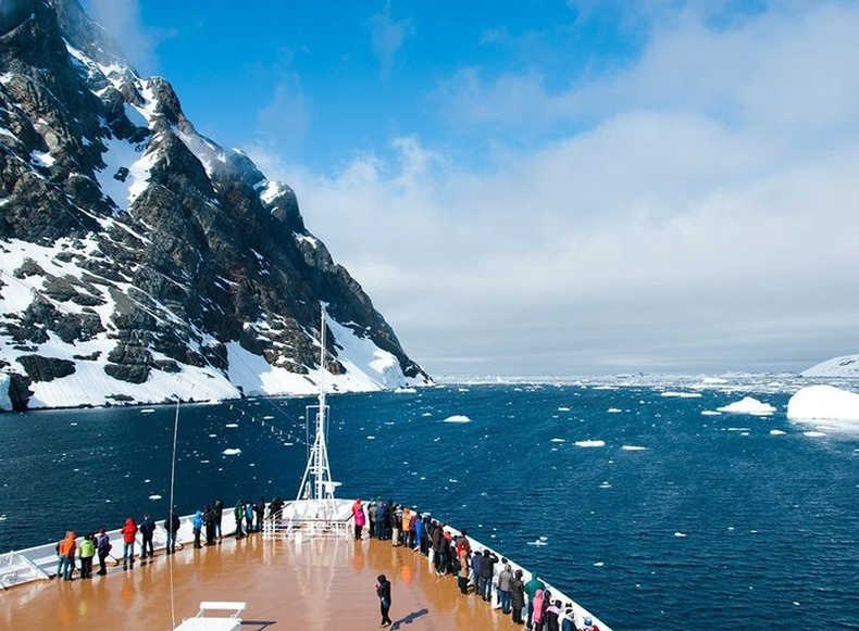 Далайд АНУ-ын газар нутгаас ч том мөсөн давхарга байдаг