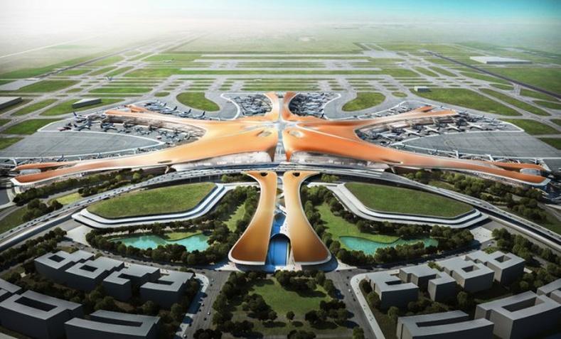 Хятадууд дэлхийн хамгийн том нисэх онгоцны буудлыг барихаар төлөвлөжээ
