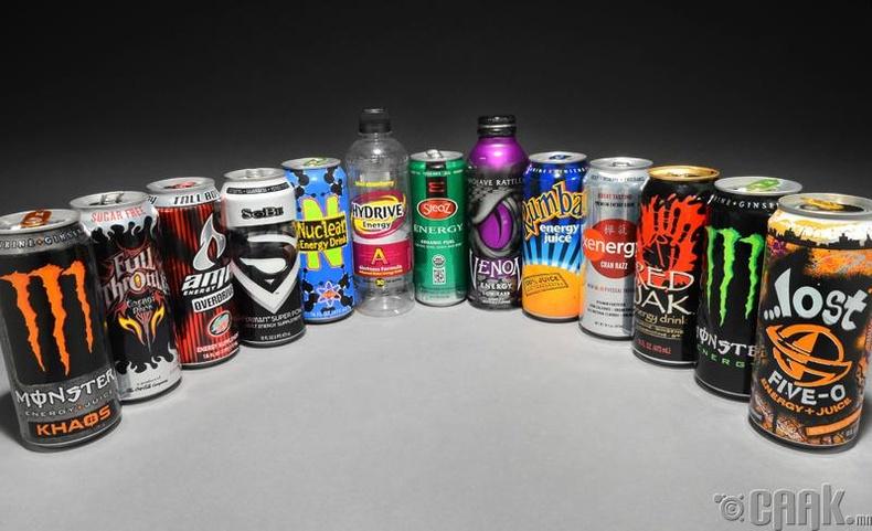 Энергийн ундаа эрч хүч өгдөг