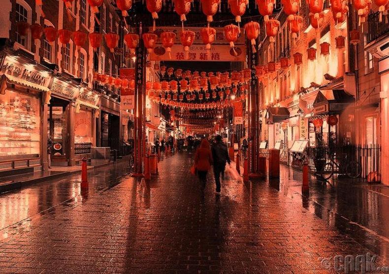 Лондон дахь Хятад хороолол
