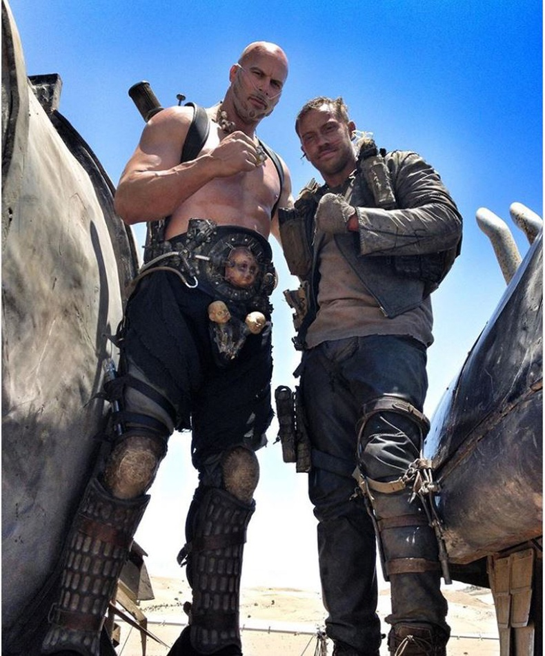 "Том Хардигийн орлон тоглогч (Tom Hardy) ""Mad Max - Fury Road"""
