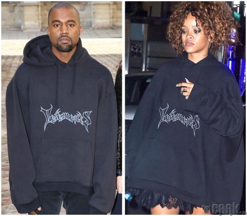Дуучин Канье Уэст (Kanye West) болон дуучин Рианна (Rihanna)
