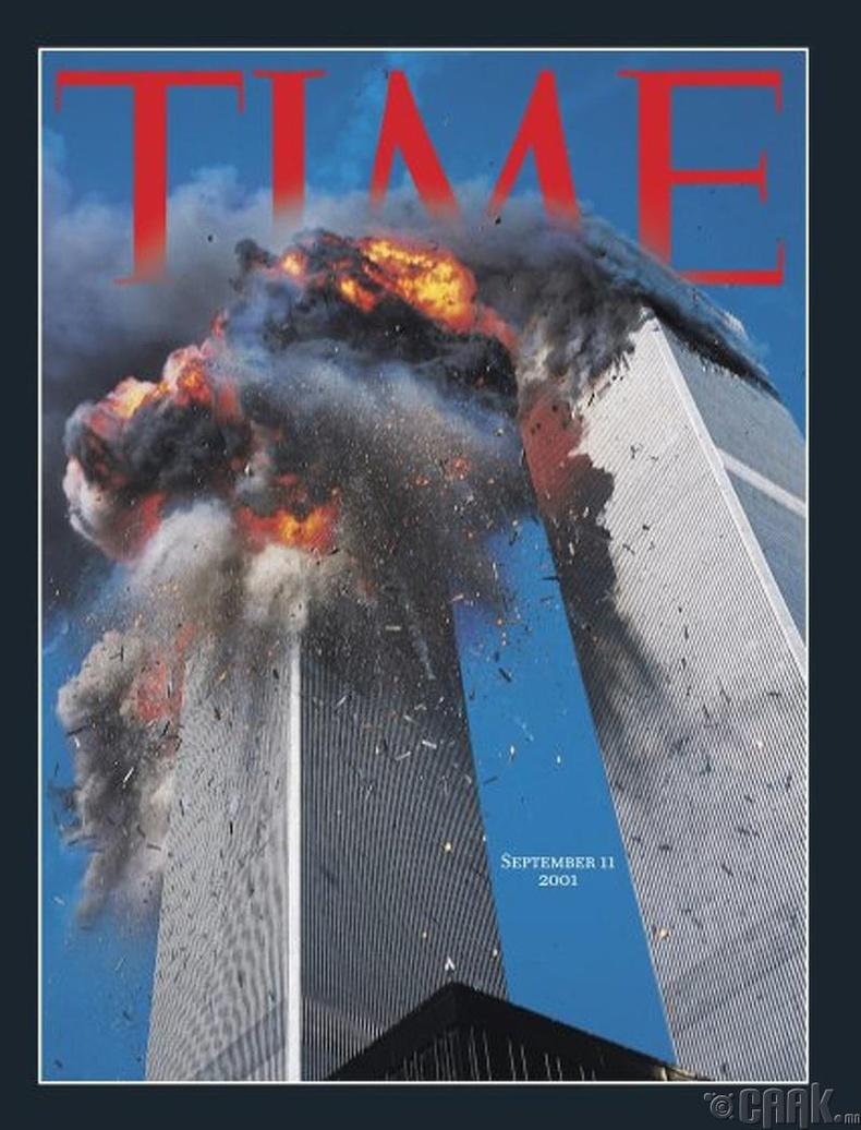 """Time"" сэтгүүл, 2001 оны есдүгээр сарын дугаар"
