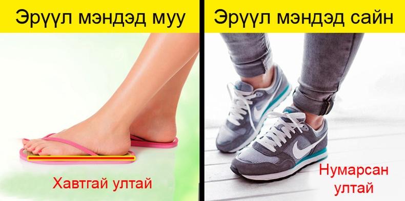 Эвгүй гутал