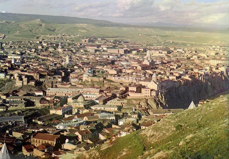 Тбилиси хот Гэгээн Давидын сүмээс  - 1910 он
