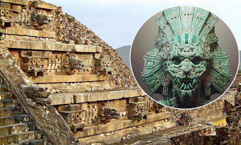 Мексикийн пирамид доороос олдсон мөнгөн усан нуурын нууц