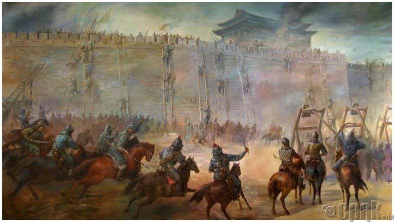 Чингис хааны гоц чадвар