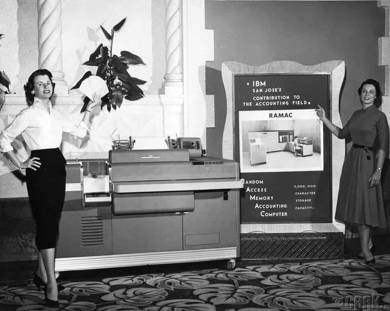 """""""IBM 305 RAMAC"""" анхны хувийн хэрэглээний компьютер"""