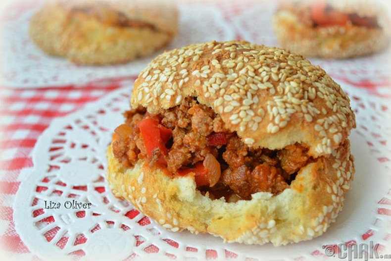 """Sloppy Joe"" сэндвич"