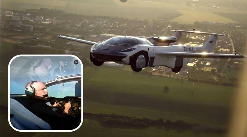 Нисдэг машины туршилт амжилттай болжээ
