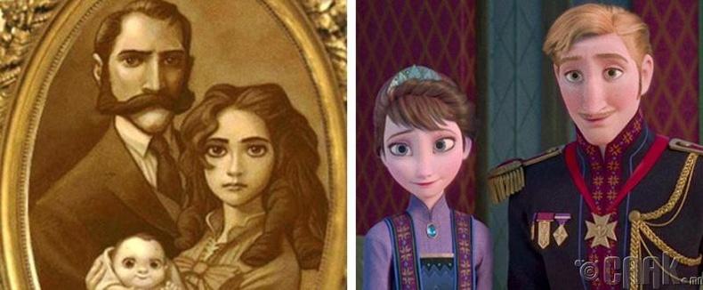 Тарзан бол Элса, Анна нарын дүү