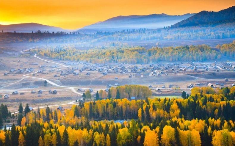 Хэмү тосгон, Алтайн аймаг, Шинжаан