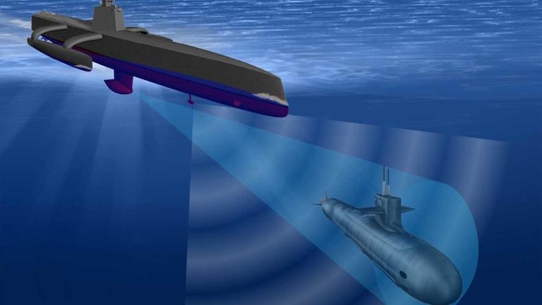 Шумбагч онгоц устгагч усан доорх дрон - АНУ