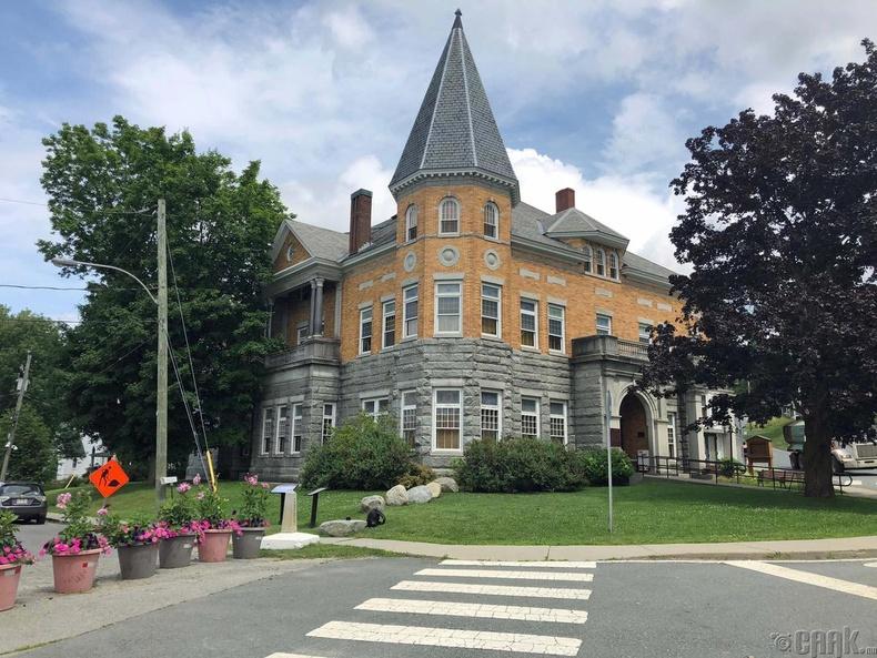 Хаскелл номын сан болон дуурийн театр (АНУ, Канад)