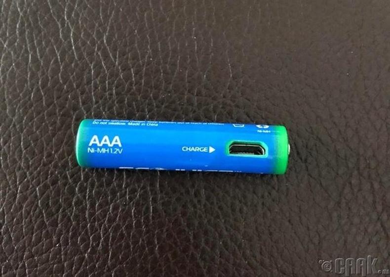 USB-ээр цэнэглэдэг зай