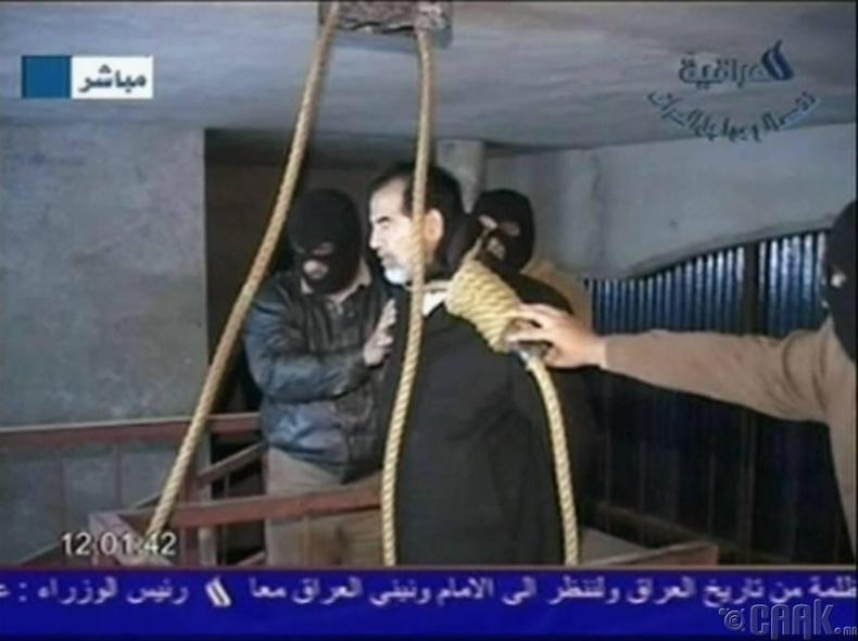 Садам Хуссейний үхэл