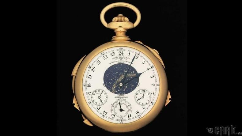 """Henry Graves Pocket Watch""- 11 сая доллар"