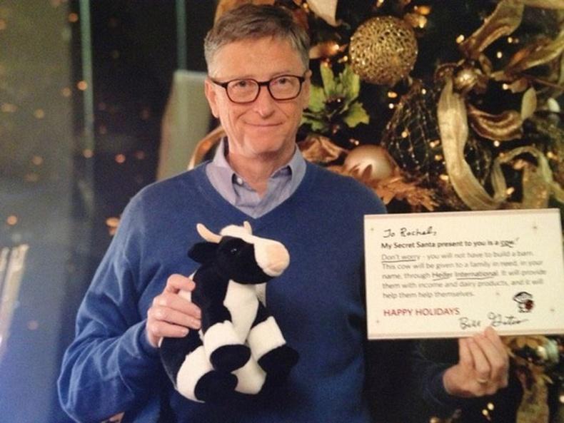 """Дэлхийн хамгийн баян эр """"Санта"""" болжээ"""