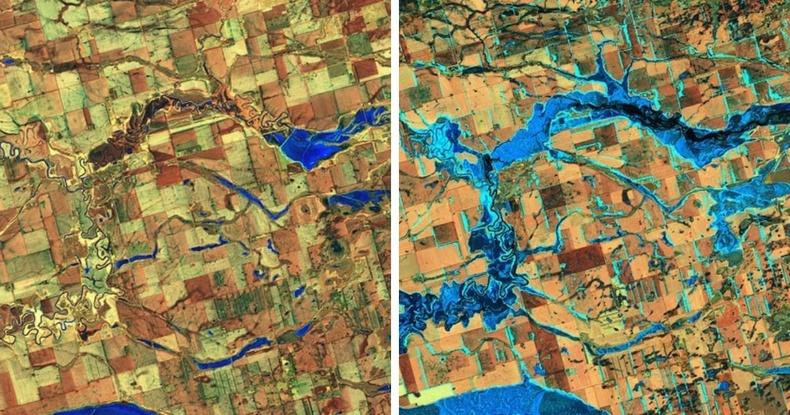 Өмнөд Дакота мужийн Жеймс голын урсац нэмэгджээ