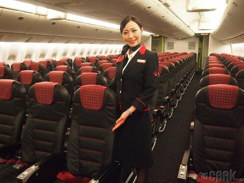 """Japan Airlines"", Япон"
