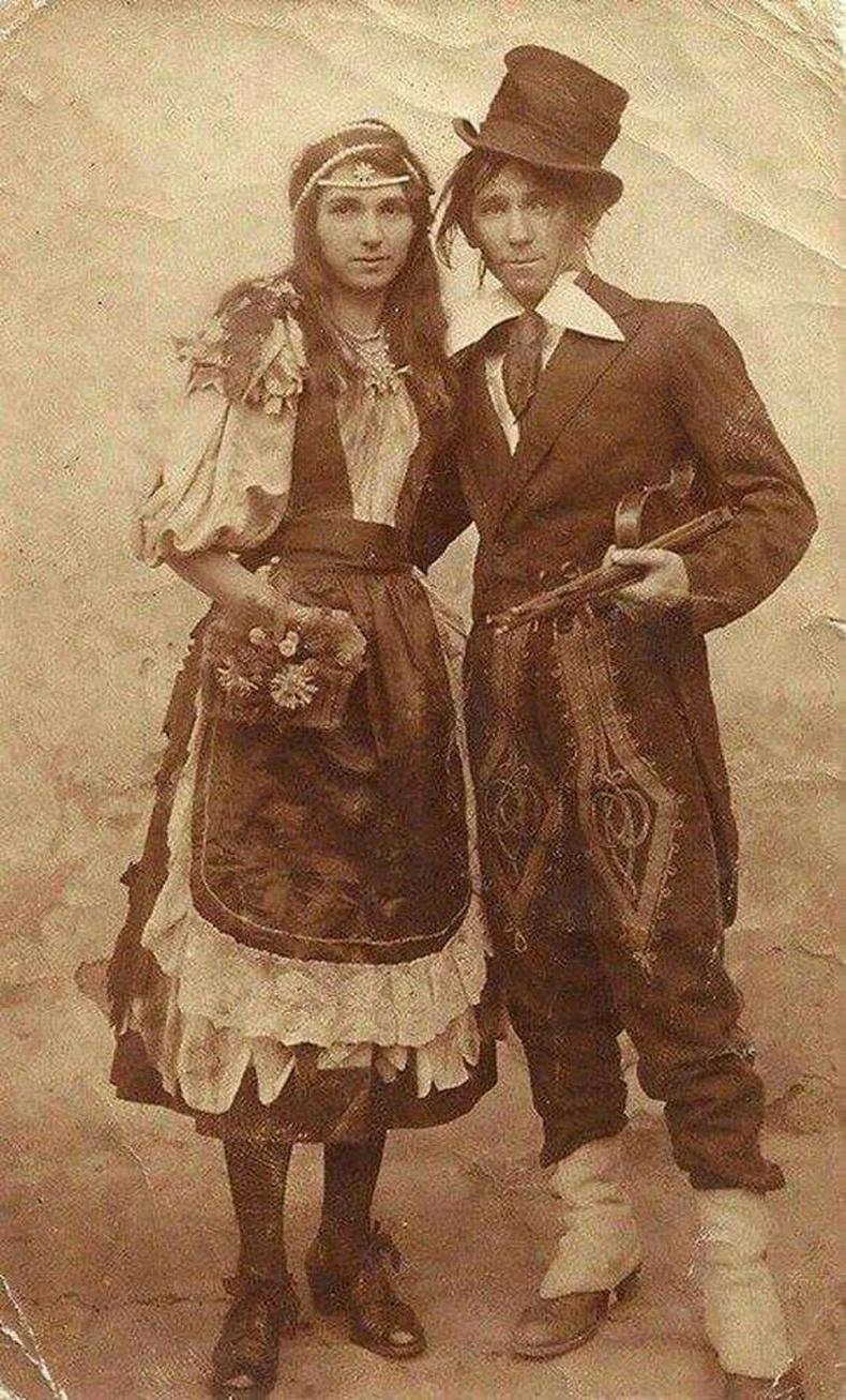 Залуухан цыган хос, 1890