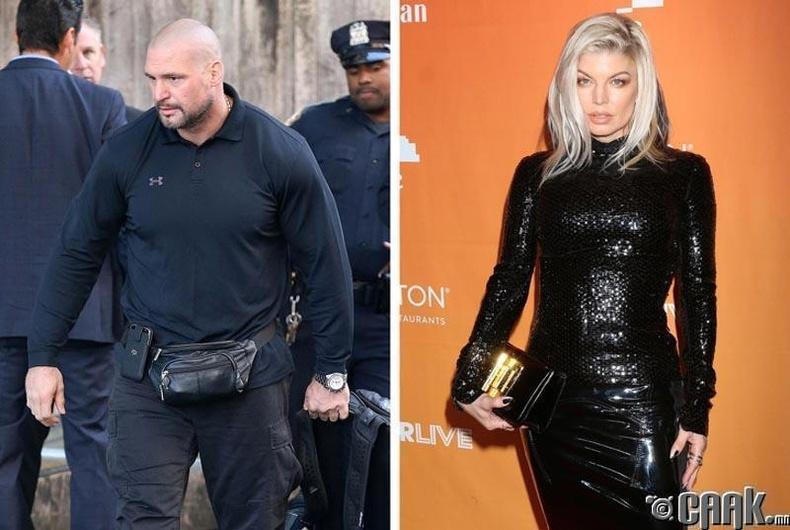 Фергигийн (Fergie) бие хамгаалагч