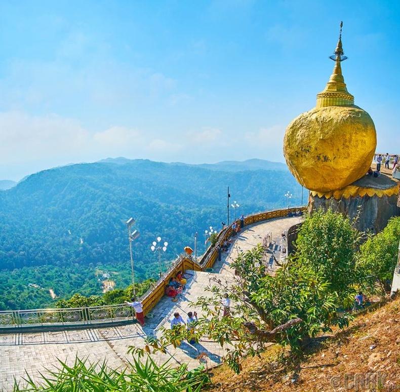 Мьянмарын алтан бул чулуу