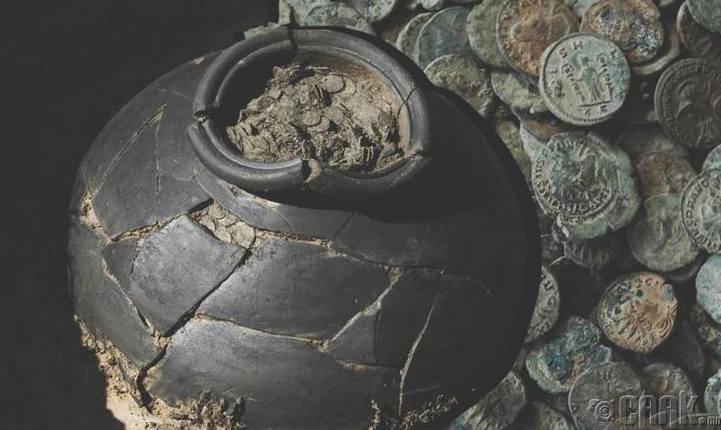 Эртний Ромын 160 кг зоос