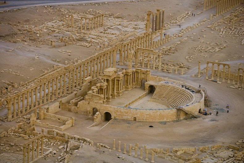 Палмир хотын туурь дахь театр - Сири
