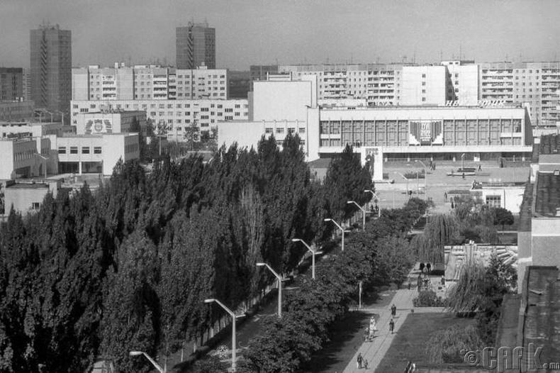 Припятын хотын төв