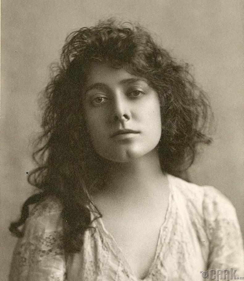 Жүжигчин Жулиа Марлоу (Julia Marlowe) - 1899 он