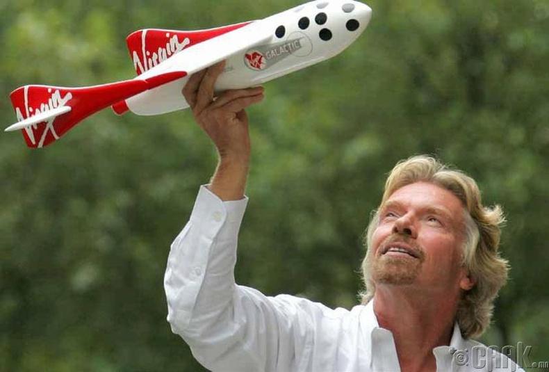 """Ричард Брэнсон (Richard Benson), """"Virgin Group"""" корпорацийг үндэслэгч"""