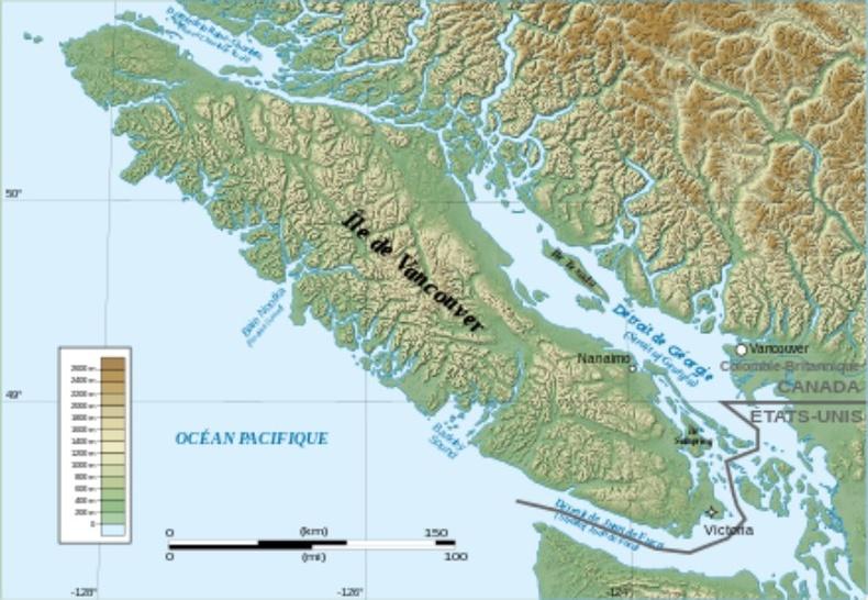 Каскадийн бүсийн ойролцоох газар хөдлөлт, цунами