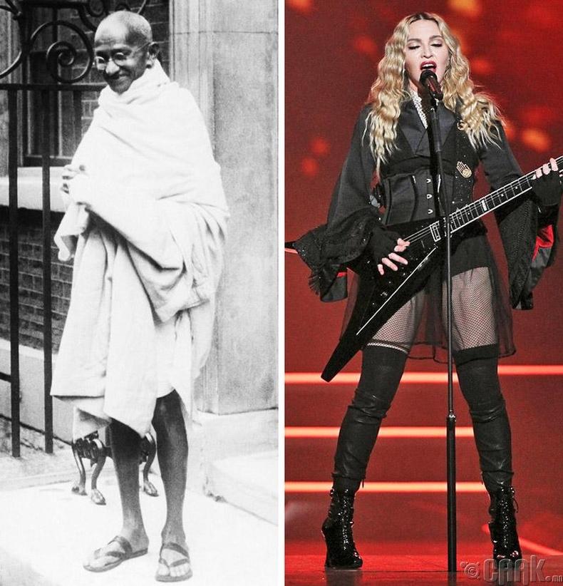 Махатма Ганди, Мадонна- 164 см