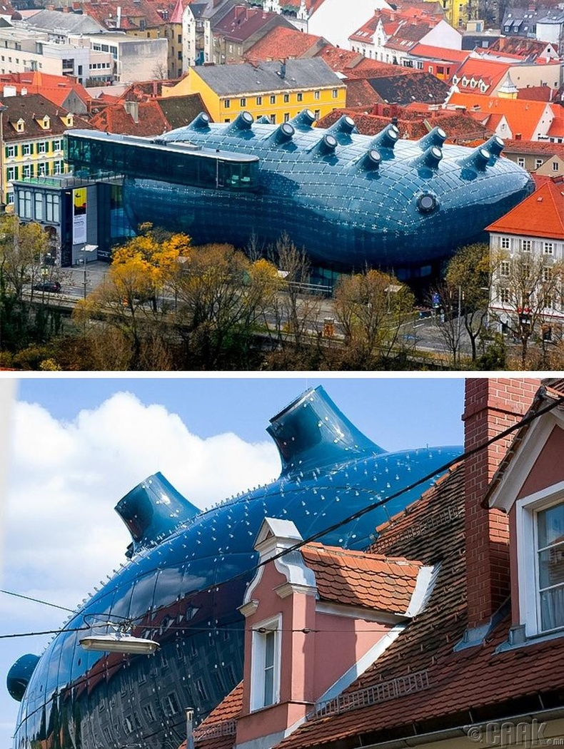 """Kunsthaus Graz"" - Граз, Австри улс"