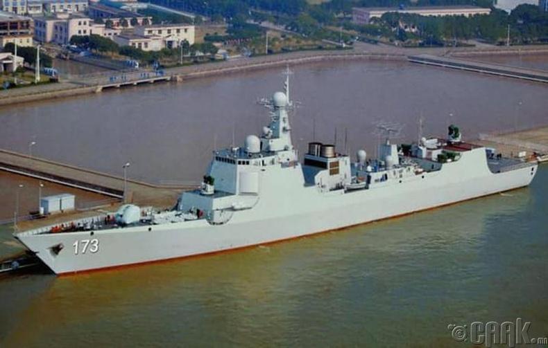 """Type 052D Luyang III"" пуужин сөнөөгч"