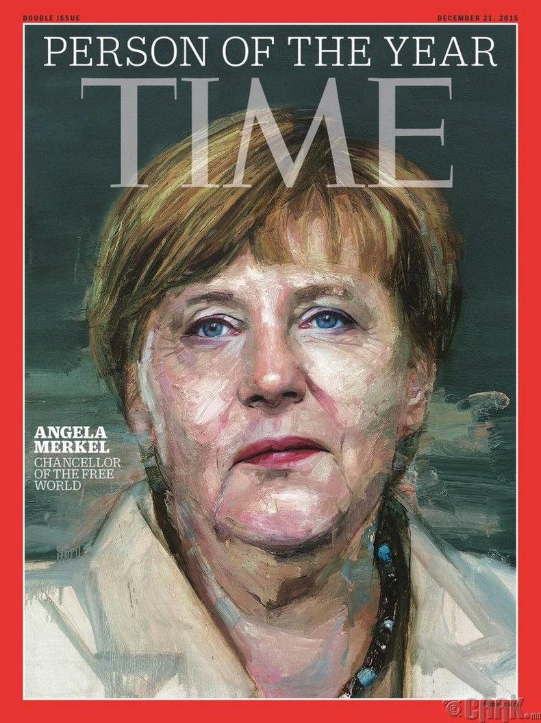 2015: Ангела Меркел