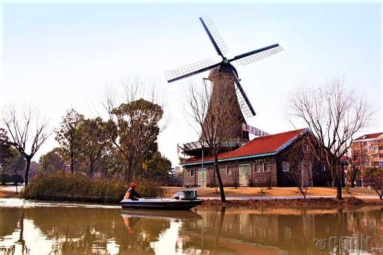 Пудон дахь Голланд тосгон