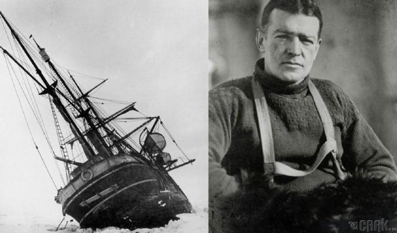Эрнест Шеклтон (Ernest Shackleton)