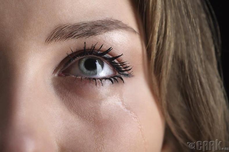 Харааны шил зүүмэгц нүднээс нулимс гарахаа болино