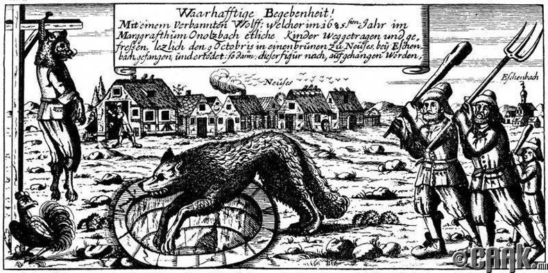 Ансбахын хүн чоно (1685 он)