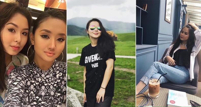 Монголын үзэсгэлэнт охид (60 фото) №157