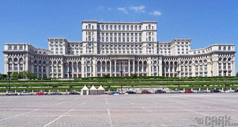 Парламентын ордон, Румын