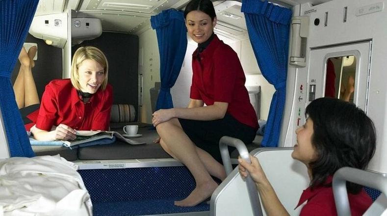 Онгоцны үйлчлэгчдийн амардаг нууц газар