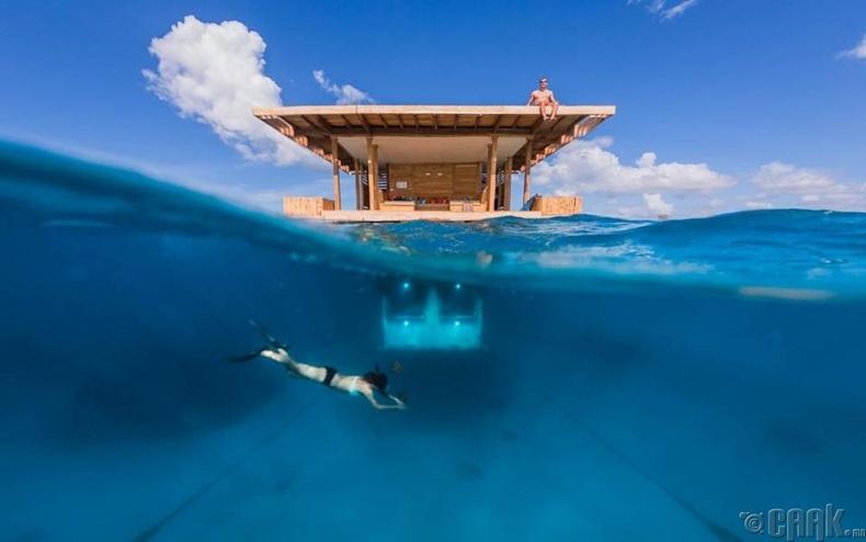 """Manta Resort"", Занзибар"