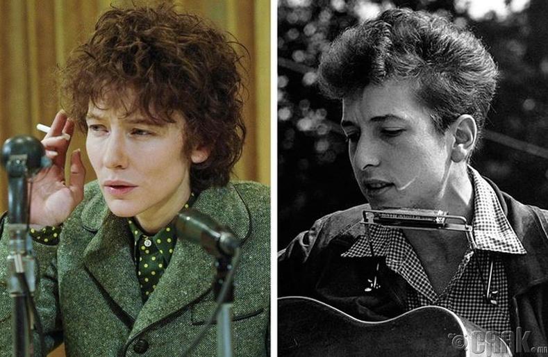 Кейт Бланшетт - Боб Дилан